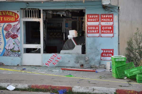 Ovacık'ta bomba patladı galerisi resim 1