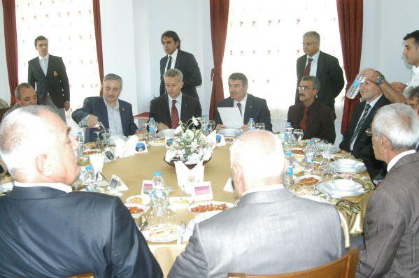 İçişleri Bakanı Şahin, Tunceli'ye geldi galerisi resim 1