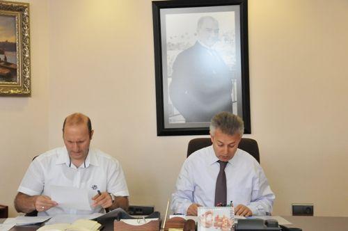 Organize Sanayi Bölgesi Yönetim Kurulu Toplandı galerisi resim 1