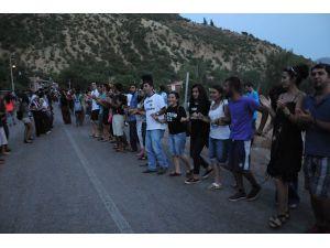 Tunceli'de 5 Bin Kişilik Munzur Protestosu