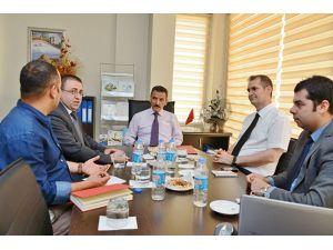 Vali Kaymak, FKA Tunceli Ofisini ziyaret etti