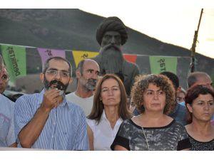 Şengal Saldırısı Yürüyüşle  Protesto Edildi