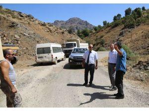 Kıl Köyü Harman Mezrası  yolu tamamlandı