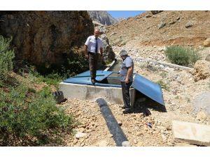Sulama suyu projesi tamamlandı