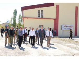 Vali Osman Kaymak, Mazgirt'i ziyaret etti