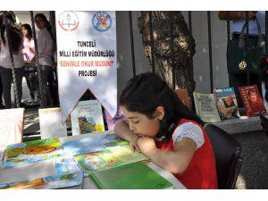 Tunceli'de Kitap Okuma Etkinliği