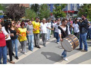Tunceli'de Eğitimciler grev yaptı