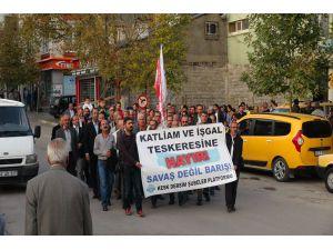 Dersim'de teskere yürüyüşü