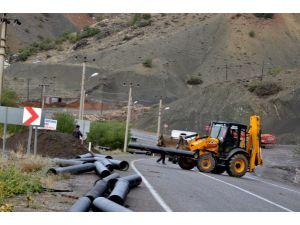 Tunceli'de İçme Suyu Çalışmaları
