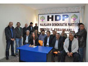 HDP'den kongre çalışması