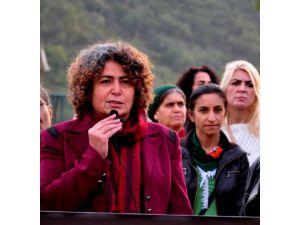 Kobani için destek yürüyüşü düzenlendi
