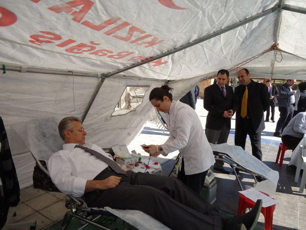 Van için kan bağışı kampanyası galerisi resim 1