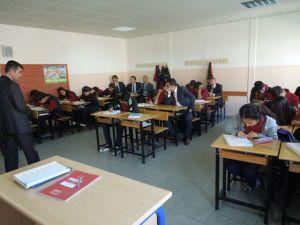 Kaymakam İnan,okul ziyaretlerini sürdürüyor