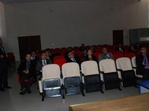 TÜBİTAK Bilgilendirme toplantısı yapıldı