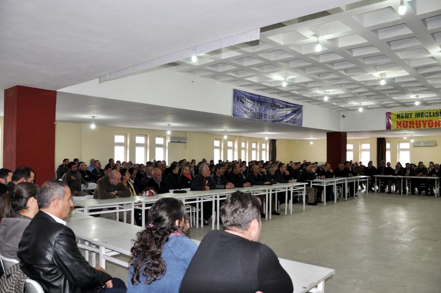 Dersim Halk Meclisi kuruluşunu ilan etti galerisi resim 1