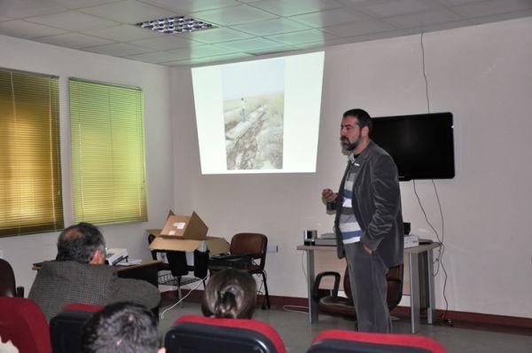 """Tunceli Üniversitesinde """"Van içinde deprem"""" Konfer galerisi resim 1"""