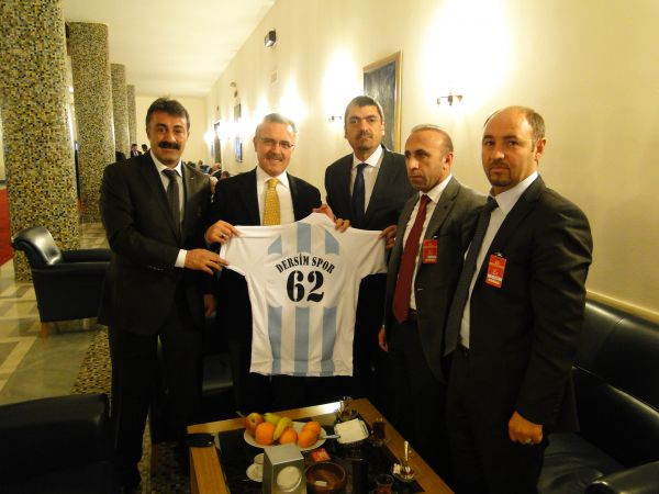 Dersim Spor Yönetim Kurulu Ankara'da ziyaretlerde galerisi resim 1