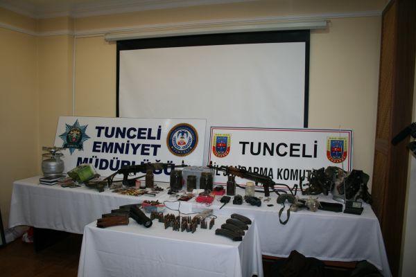 Tunceli'de terör operasyonu: 10 gözaltı galerisi resim 1