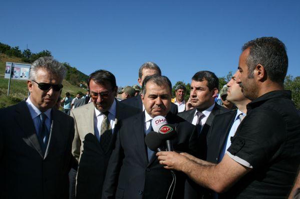 İçişleri Bakanı Nazımiye'ye geldi galerisi resim 1