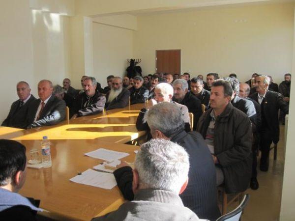 Pülümür'de Hizmet Götürme Birliği Meclis Toplantıs galerisi resim 1
