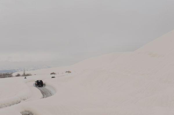 Tunceli'de kar yağışı nedeniyle 160 köy yolu ulaşı galerisi resim 2