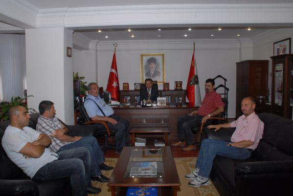 Dersim Spor'dan teşekkür ziyaretleri galerisi resim 1