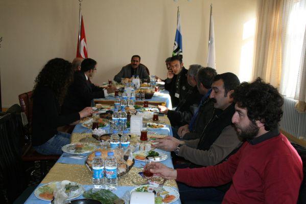 Aksa Fedaş Bölge Müdürü Neşet Demirbağ Tunceli'ye galerisi resim 1