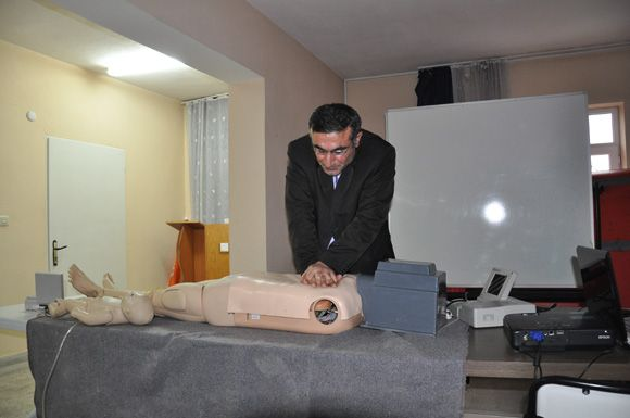 Tunceli'de Arama-Kurtarma Ekiplerine Eğitim Verili galerisi resim 1