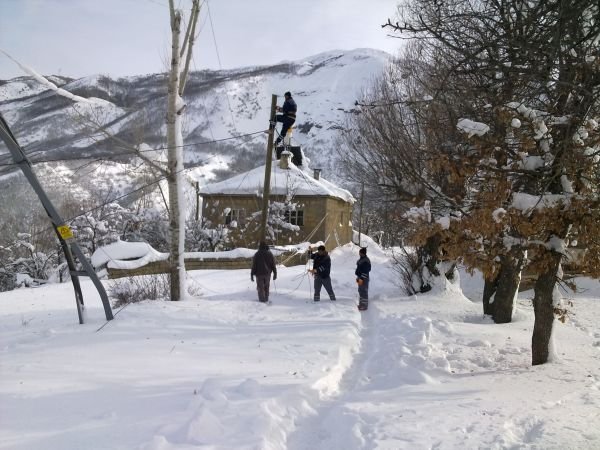 Tunceli'de karanlıkta kalan köylere enerji verilme galerisi resim 4