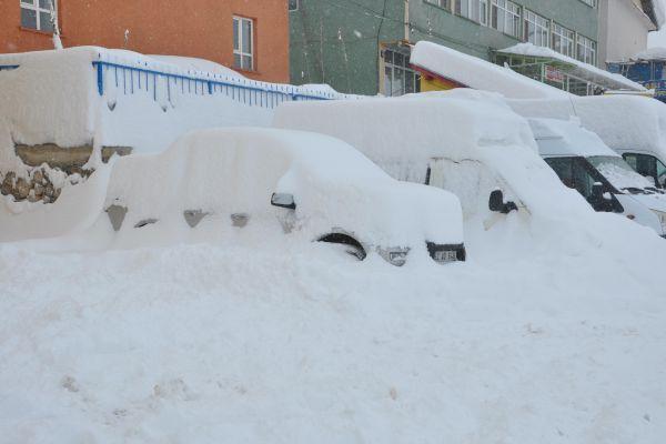 Ovacık'ta Kar Mücadelesi Devam Ediyor galerisi resim 1