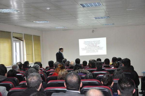 Tunceli Üniversitesinde Hizmet İçi Eğitim galerisi resim 1
