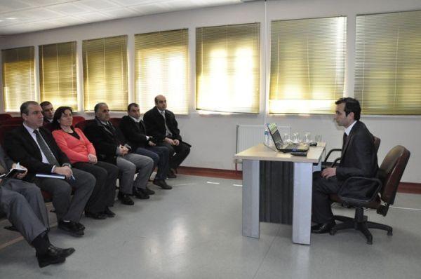Tunceli Üniversitesinde Hizmet İçi Eğitim Semineri galerisi resim 1