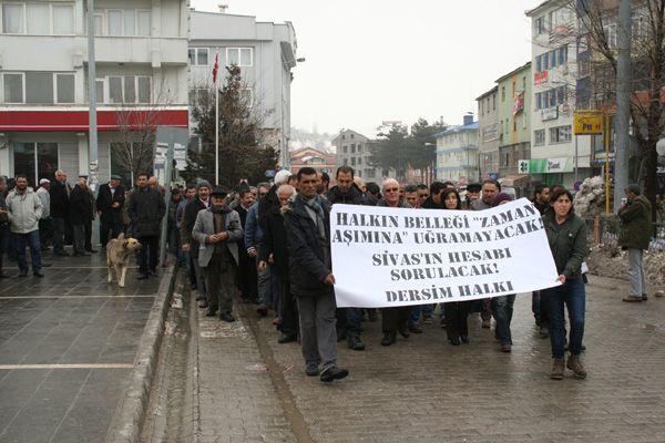 Sivas Davasının Zaman Aşımı Protesto Edildi galerisi resim 1