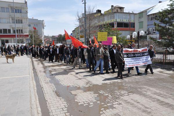 Tunceli'de AKP'ye Zam Protestosu galerisi resim 1
