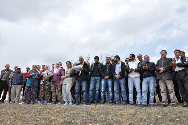 Köylülerden Taş Ocağı Protestosu galerisi resim 2