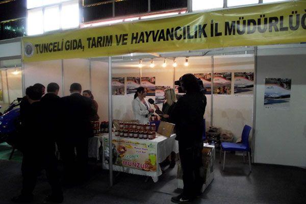 Tunceli Ürünleri Diyarbakır Tarım Fuarında Tanıtıl galerisi resim 1