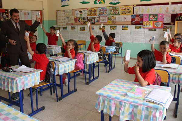 Öğrencilere Süt Dağıtıldı galerisi resim 1