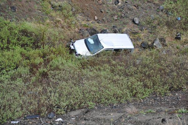 Pülümür'de Trafik Kazası: 1 Yaralı galerisi resim 1