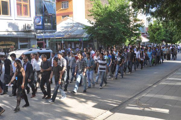 Tunceli'de gözaltılar protesto edildi galerisi resim 3