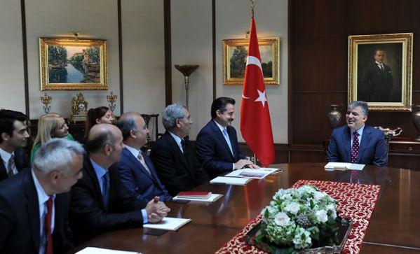 Boztuğ, Cumhurbaşkanını ziyaret etti galerisi resim 1