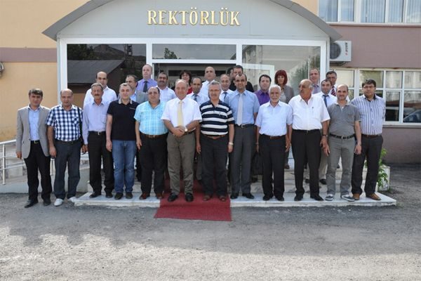 Mustafa Ataş'tan Rektöre ziyaret galerisi resim 1