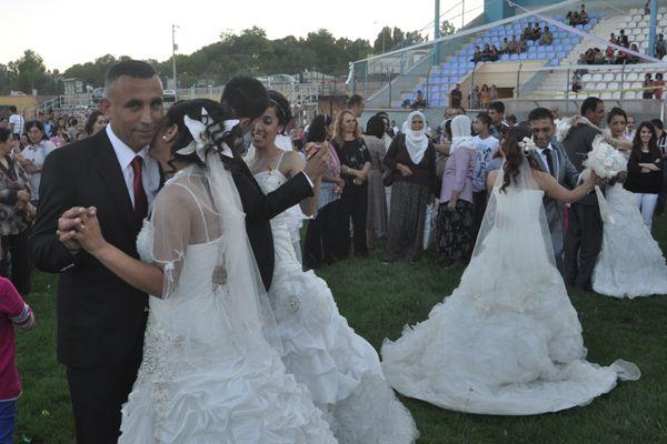 Tunceli'de 40 çifte toplu nikâh kıyıldı galerisi resim 1