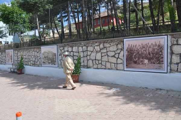 HOZAT'TA 1938 DUVARI OLUŞTURULDU galerisi resim 1