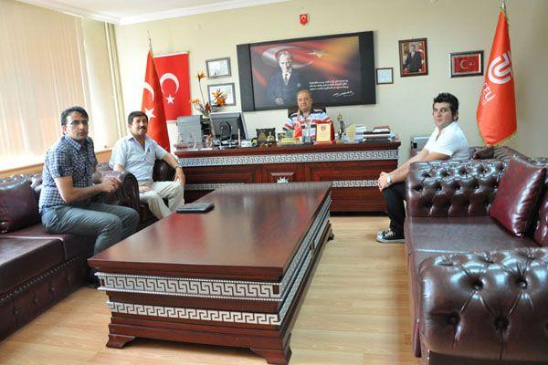 Kültür Vakfı Başkanından Rektör Boztuğ'a ziyaret galerisi resim 1