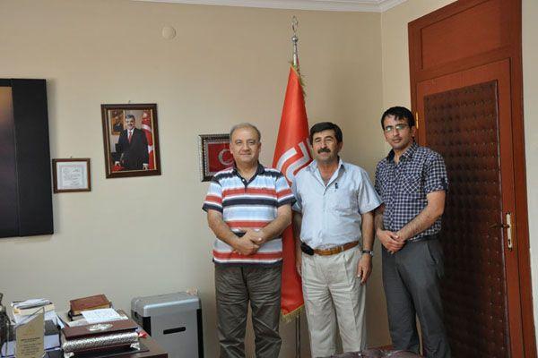 Kültür Vakfı Başkanından Rektör Boztuğ'a ziyaret galerisi resim 3