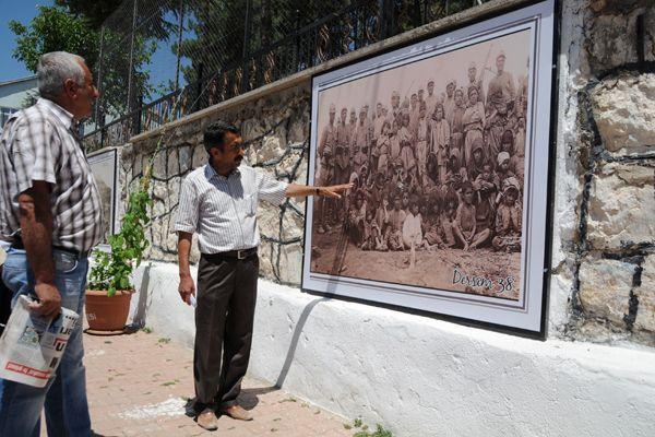 Dersim Katliamının fotoğrafları için 38 duvarı galerisi resim 1