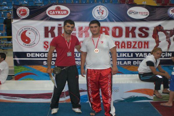 Kick-Boks'ta Türkiye Şampiyonu galerisi resim 1