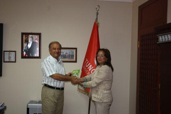 Nevşehir Rektöründen Tunceli Rektörüne ziyaret galerisi resim 1