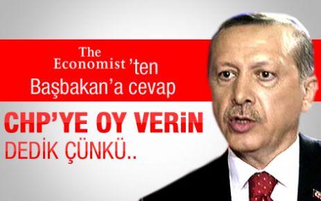 Economist dergisinden Erdoğan'a yanıt