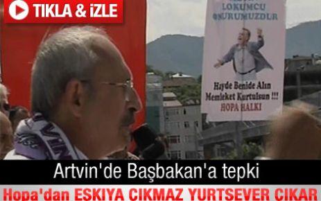 Kılıçdaroğlu'nun Artvin Hopa konuşması